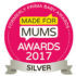 Made for Mums Silver Award 2017 for myHummy Ash